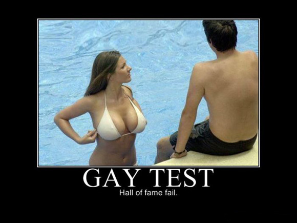 gay test for girls